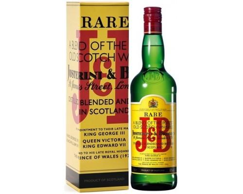 Виски J&B Rare gift box 0.7 л