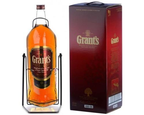 Виски Grant's Family Reserve with cradle & gift box 4.5 л