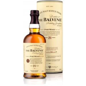 Виски Balvenie PortWood 21 Years Old gift tube 0.7 л