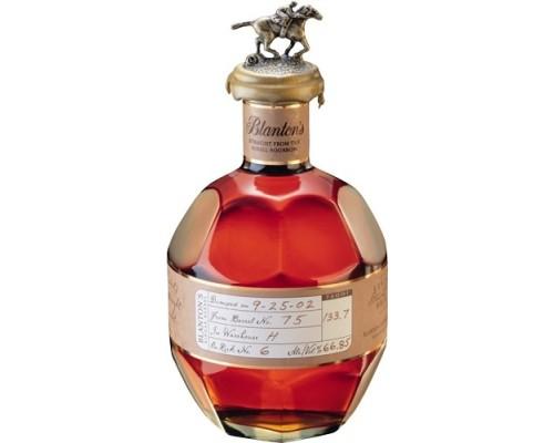 Виски Blanton's Straight From The Barrel 0.7 л