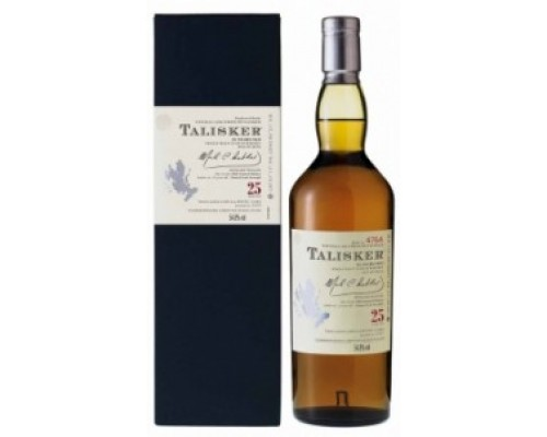 Виски Talisker 25 Years Old Limited Edition 0.7 л
