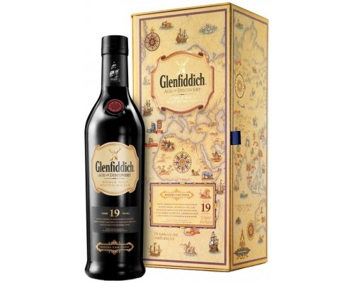 Виски Glenfiddich Age of Discovery Madeira Cask 19 years in gift box 0.7 л