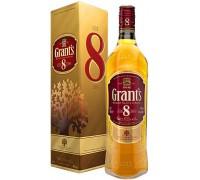 Виски Grant's 8 Years Old gift box 0.7 л