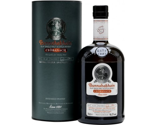 Виски Bunnahabhain Ceobanach gift tube 0.7 л