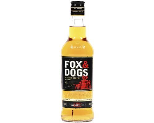 Виски Fox and Dogs 0.7 л