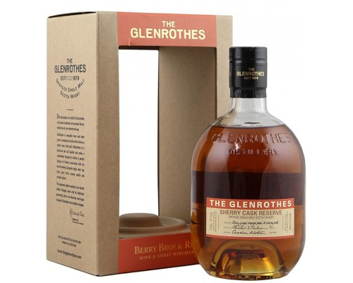 Виски Glenrothes Sherry Cask Reserve gift box 0.7 л