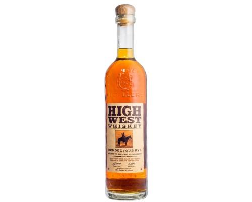 Виски High West Rendezvous Rye 0.7 л