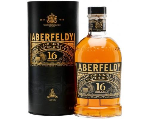 Виски Aberfeldy 16 Years Old in tube 0.7 л