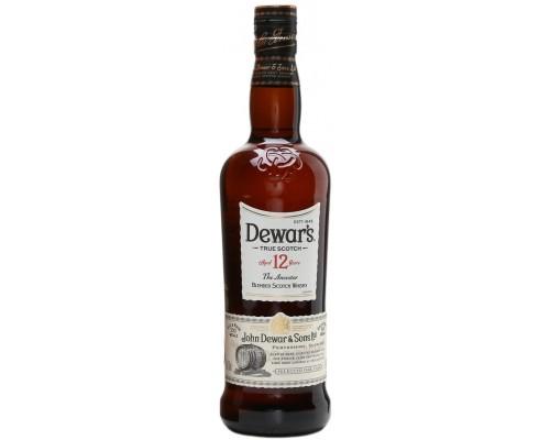 Виски Dewar's 12 years old 0.5 л