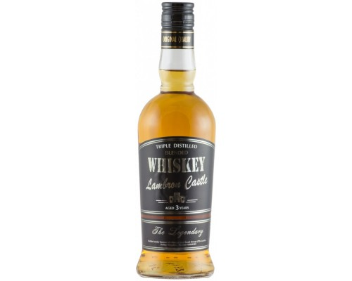 Виски Lambron Castle Blended Whiskey Aged 3 Years 0.5 л