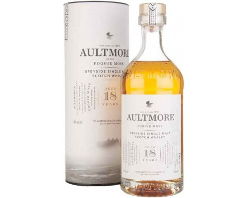 Виски Aultmore 18 Years Old in tube 0.7 л