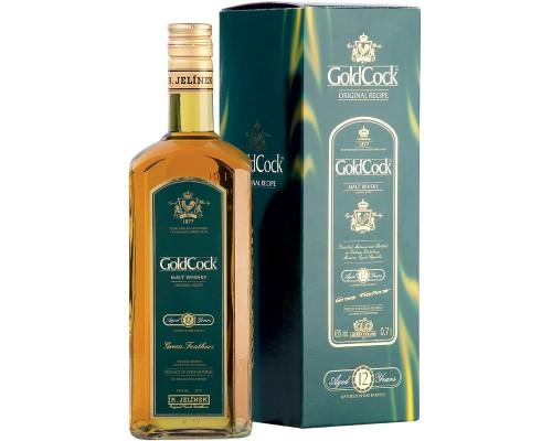Виски R. Jelinek Gold Cock 12 Years Old gift box 0.7 л