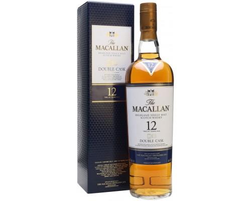 Виски Macallan Double Cask 12 Years Old gift box 0.7 л