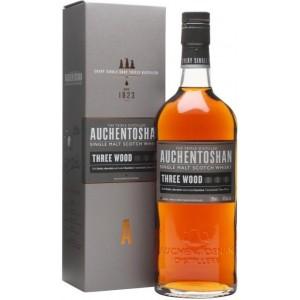 Виски Auchentoshan Three Wood gift box 0.7 л