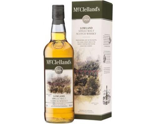 Виски McClelland's Lowland gift box 0.7 л