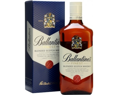 Виски Ballantine's Finest gift box 0.7 л