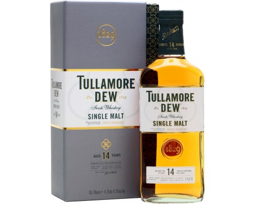 Виски Tullamore Dew 14 Years Old gift box 0.7 л