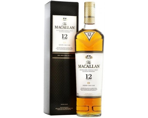 Виски Macallan Sherry Oak 12 Years Old with box 0.7 л