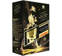 Виски Black Label gift box with glass 0.7 л