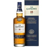 Виски The Glenlivet 18 years with box 0.7 л