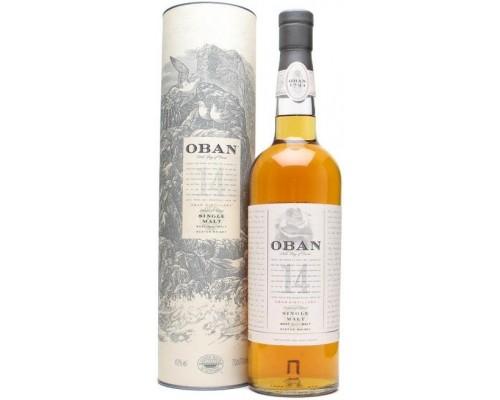 Виски Oban malt 14 years old with box 0.7 л