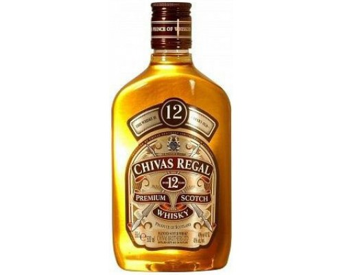 Виски Chivas Regal 12 years old flask 0.5 л