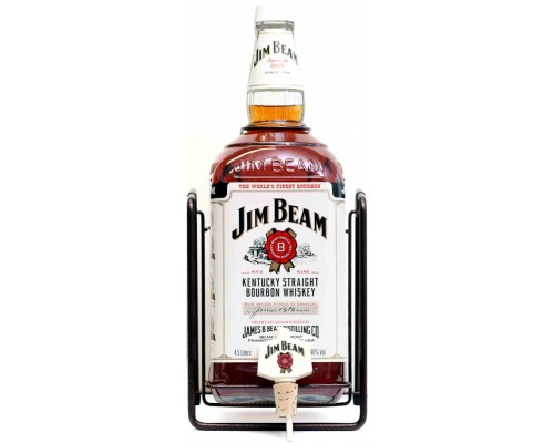 Виски Jim Beam with Pouring Stand gift box 3 л