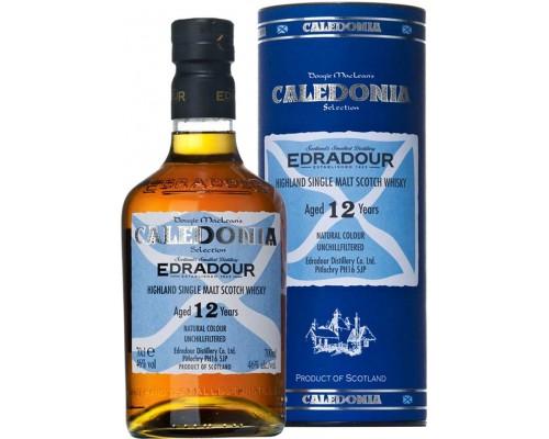 Виски Edradour Caledonia 12 years old In Tube 0.7 л