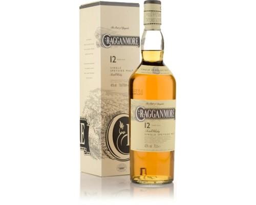 Виски Cragganmore 12 Years Old gift box 0.7 л
