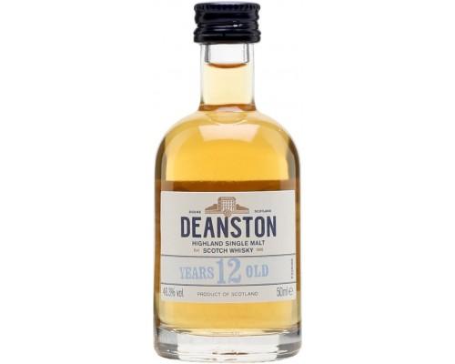 Виски Deanston Aged 12 Years 50 мл