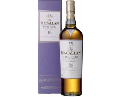 Виски Macallan Fine Oak 18 Years Old with box 0.7 л