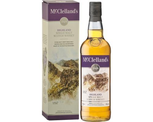Виски McClelland's Highland gift box 0.7 л