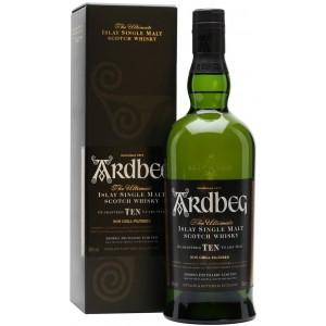 Виски Ardbeg 10 YO in gift box 0.7 л