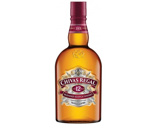 Виски Chivas Regal 12 years old 0.7 л