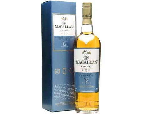 Виски Macallan Fine Oak 12 Years Old with box 0.5 л
