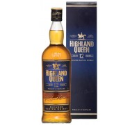 Виски Highland Queen 12 Years Old gift box 0.75 л
