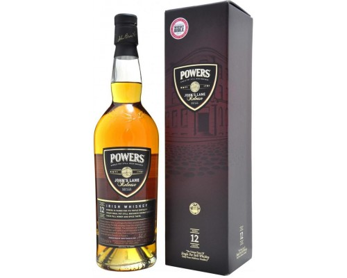 Виски Powers John's Lane Release 12 years old gift box 0.7 л
