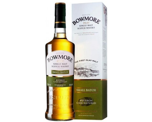 Виски Bowmore Small Batch gift box 0.7 л