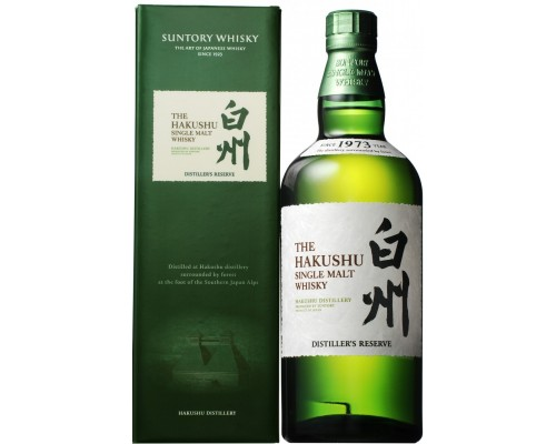 Виски Suntory Hakushu Distiller's Reserve gift box 0.7 л