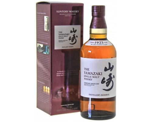 Виски Suntory Yamazaki Distiller's Reserve gift box 0.7 л