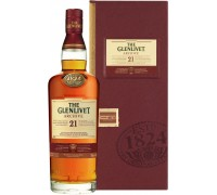 Виски The Glenlivet 21 Years Old wooden box 0.7 л