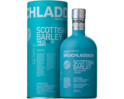 Виски Bruichladdich The Classic Laddie Scottish Barley in tube 0.7 л