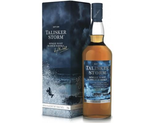 Виски Talisker Storm gift box 0.7 л