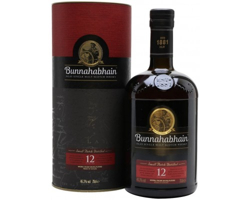 Виски Bunnahabhain aged 12 years gift box 0.7 л