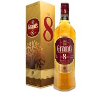 Виски Grant's 8 Years Old gift box 0.7 л