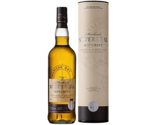 Виски Muirhead's Silver Seal Maturity gift tube 0.7 л