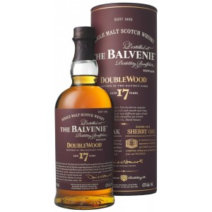 Виски Balvenie Doublewood 17 Years Old in tube 0.7 л