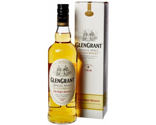 Виски Glen Grant The Major's Reserve gift box 0.7 л
