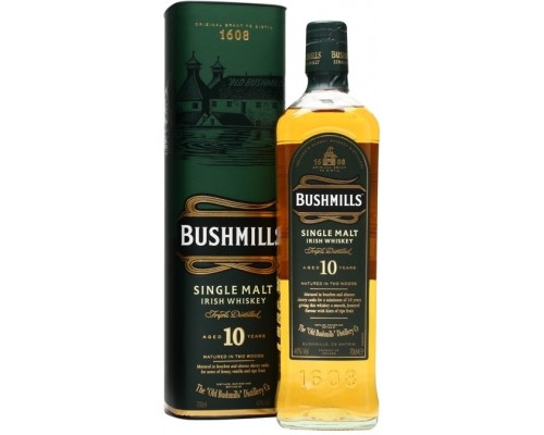 Виски Bushmills Malt 10 Years Old with box 0.7 л