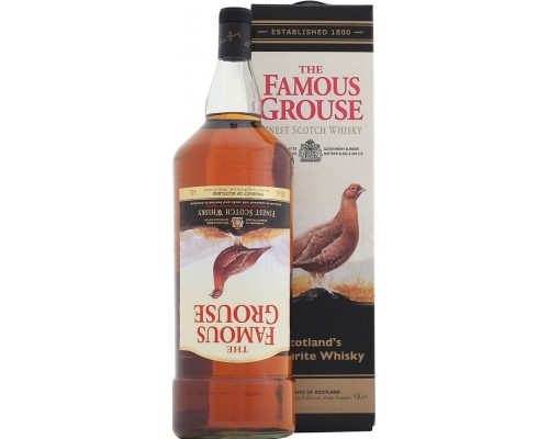 Виски The Famous Grouse Finest gift box with cradle 4.5 л